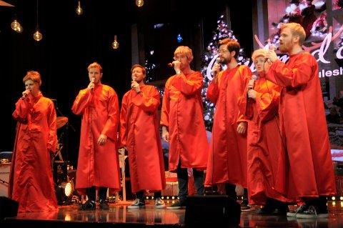 Glede til verden: Gled deg til acapella-versjonen av Joy to the world med utvidet Hønefoss kirkekor.