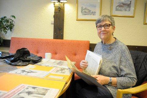 Engasjert: Astrid Opsahl var leder for eldresenteret i Krokenveien fra 1989. Hun er også medlem i Ringerike Soroptimistklubb som markerer 8.mars på Ringerike Bibliotek.