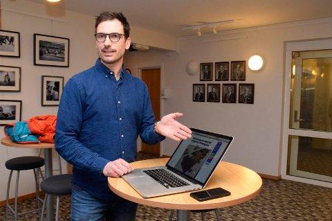 Nabo Daniel Holm er skuffet over at et flertall i formannskapet vil tillate utbygging av Hønengata 40-44.