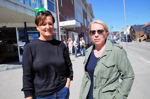 Jorun Vold fra Jevnaker (til venstre) og Inger Lise Åkerson fra Lunner.