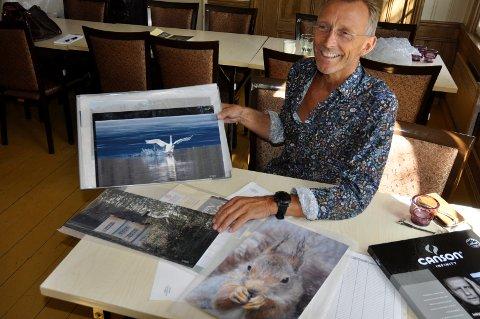 ÅPNING: Erland Røed har fotoutstilling i Fengselet lørdag og søndag.