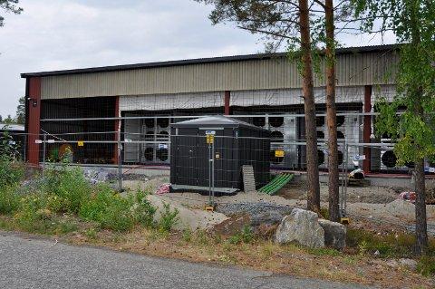 """Nettservice Datadrift: Datasenter i Verkstedveien på Hensmoen som """"graver etter kryptovaluta""""."""