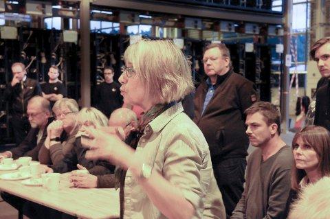 Engasjert: Else Breines var en av de engasjerte naboene på Kryptovault.