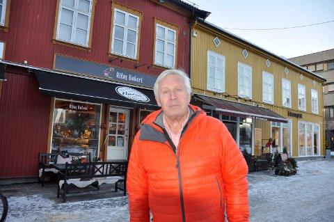 HAR SOLGT: Narve Narum har solgt Søndre torg 8 og en seksjon i Norderhovsgaten 10 til Jan Solberg.