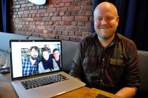 Tar med Silya hjem: Truls Hval og Endre Hareide Hallre tar med Silya hjem til Hønefoss. Men Jørn Dahl har planer om flere celebre besøk i tiden som kommer.
