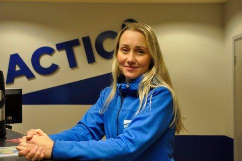 FÅ: Daglig leder ved Actic, Tina Andreassen, hevder at få faller ifra når nyttårsforsettene falmer.
