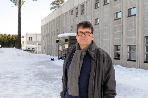 STORE PLANER: Bjørn Marseth i Ringerike Idrettsråd ønsker storslått idrettsanlegg i Hovsmarka.