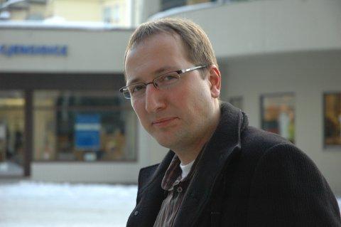 VRAKET: Ståle Skjønhaug var innstilt som ny leder i Ringerike Arbeiderparti, men et ytterst knapt flertall på årsmøtet valgte å ikke gi Skjønhaug vervet.
