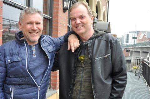 VENNER: Bror Andersen og Erik Smith har fulgt hverandre gjennom hele livet.