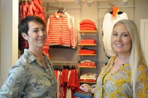 LaBelle: Judith F. Karlsrud og datteren Monica Østmo opplever at kundene strømmer til.