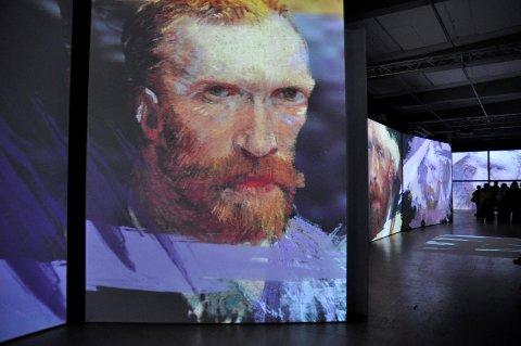 Intenst: Van Gogh ser deg fra alle vinkler.