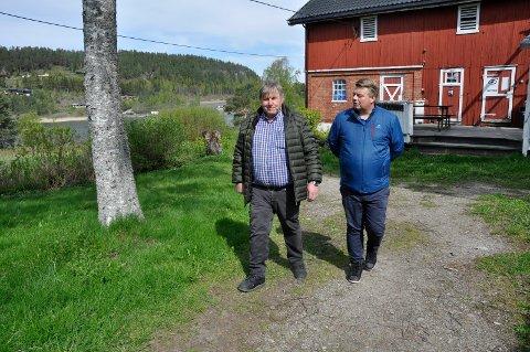 God jobb: - Lars Olsen gjør en veldig god jobb som bestyrer på Herøya, sier konserndirektør i Oslo Sporveier, Torgeir Kristiansen.