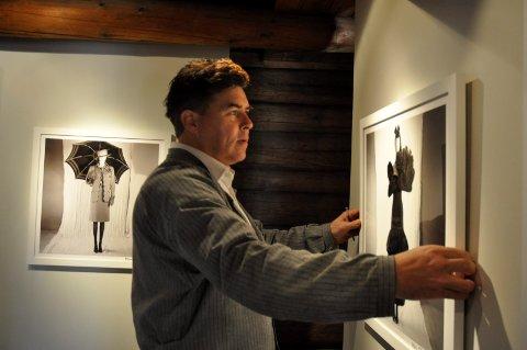 På veggen: Thomas Klevjer har Per Spook på veggen for tredje gang i sommer.