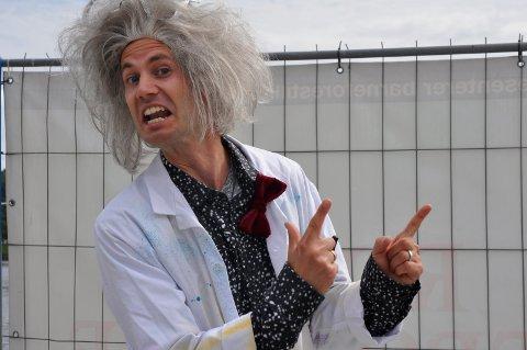Veldig gal: Professor Hikk, alias Kenneth Sørum Bekkemoen.