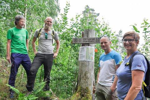 Morten Dåsnes, Tom-Erik Bakkely Aasheim, Tommy Støa og Turid Bjørnum vil ikke la sherpaer lage vei til Mørkgonga. Leserne er splittet.