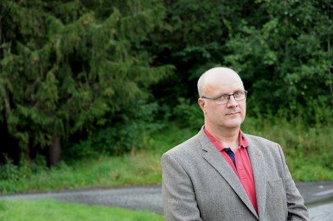 STREIK: Gard Henriksen, hovedtillitsvalgt for Negotia-medlemmene i Felleskjøpet Agri.