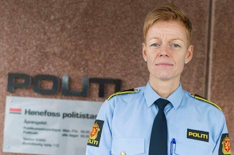 NY SJEF: Lill Heidi Tinholt forlater politiet til fordel for krisesenteret.