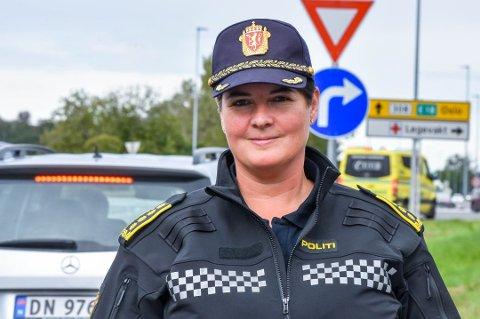 Distriktsleder i UP, Karin Walin.