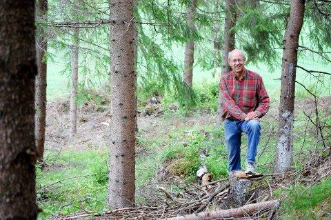 INNTRYKK: At bestefaren var så forutseende at han kjøpte en gård før krigen, gjorde stort inntrykk på Lars Fredrik Stuve da han var guttunge.