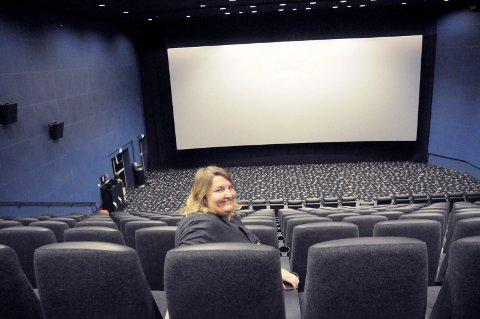Endelig: Vi gleder oss stort til endelig å få åpne dørene igjen, sier kinosjef Katrine Wang Svendsen