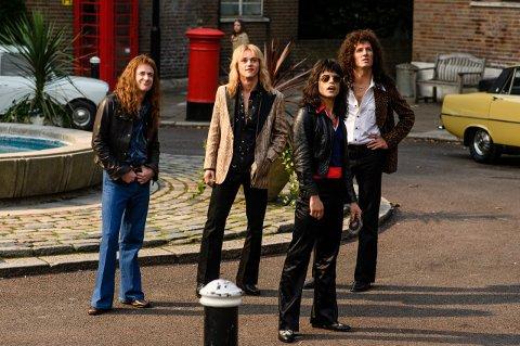 70-TALLSESTETIKK: Bristisk film er gode på å hente fram nostalgiestetikken, og Queen-filmen som topper kinolistene i verden nå er intet unntak.