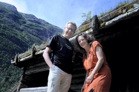Klare: Per Syversen og Randi Mossing gleder seg til konsert på Tinn museum torsdag.