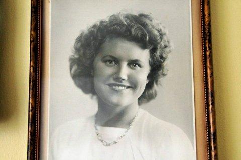 Lillian Gabrielsen, født Syverstad, som ung. FOTO:PRIVAT
