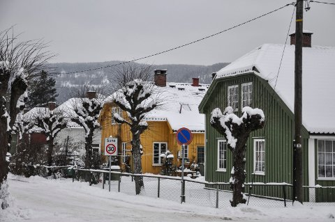 TREHUS: Som i Røros har også Notodden (bildet) og Rjukan verneverdig trehusbebyggelse som står på Unescos verdensarvliste.