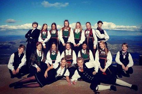 TINNDØLAN: her er tinndølabn på Gaustatoppen, og nå inviterer dem deg på dans på Dølehalle fire søndager de kommende par månedne.