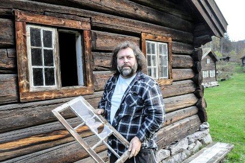 NOK Å GJØRE: Bjørn Strander og NIA har nok å gjøre på vedlikeholdsfronten.