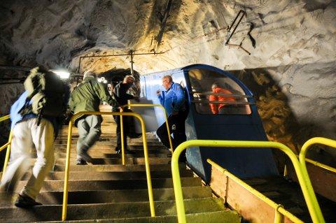 GAUSTABANEN: Gaustabanen er løsningen for dem som vil til topps i Telemark, men som ikke kan eller vil gå opp og ned.