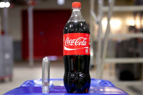 SUKKER-RIKT: Coca-Cola.