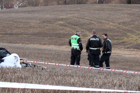 STYRTET: Her skjedde den tragiske ulykken og den 50 år gamle mannen fra Enebakk omkom. Politiet vil nå etterforske for å finne årsaken til ulykka. FOTO: ESPEN BØRRESTUEN
