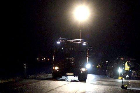 OMKOM: En mann i 60-årene fra Ullensaker omkom i en ulykke 20. desember. Til sammen sju personer har mistet livet i trafikken på Romerike i år.