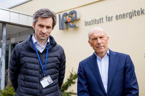 Sikkerhetssjef Ole Reistad og kommunikasjonssjef Viktor A. Wikstrøm mener at rapportene viser at regjeringen ser alvoret i situasjonen.