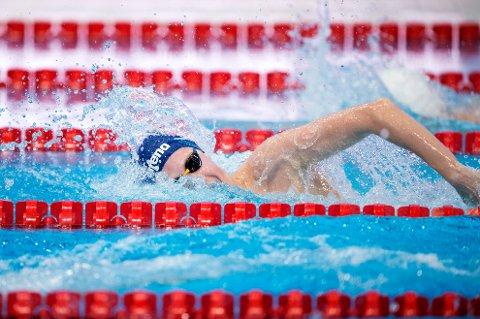 DÅRLIG DAG: Henrik Christiansen fikk ikke ut det han håpet og endte på sjuendeplass i EM-finalen på 1.500 meter. FOTO: NTB SCANPIX