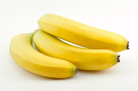 Bananer er populære blant store og små. (Foto: Colourbox)