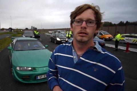 STOPPET: Thomas Trongaard Grønli var en av dem som ble stoppet i storkontrollen.