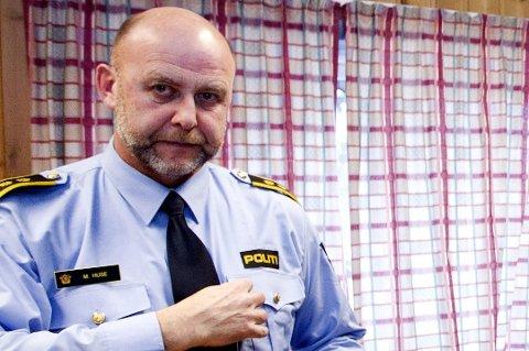 Lensmann i Ullensaker, Morten Huse.