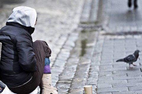 UTNYTTES: Bakmenn fra Romania tjener store penger på tigging, prostitusjon, narkotika og stjeling. Politiet utelukker ikke at tiggerne på Romerike også er en del av et organisert, kriminelt miljø.FOTO: Vidar Langeland, BA/ANB