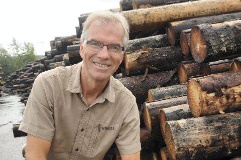 Fornøyd: Stangeskovene-sjef Erik Toverud er fornøyd med selskapets økonomiske resultater.Foto: Bjørn Ivar Bergerud