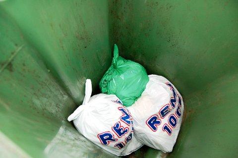 SØPPEL: Det koster å bli kvitt søpla. Det er imidlertid store variasjoner i sppelgebyrene på Romerike.