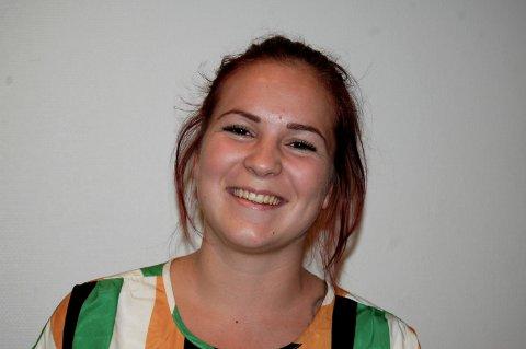 HASTEINNKALT: Maren Winnem (21) fra Eidsvoll er fylkesleder i Akershus Unge Høyre.