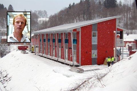 LØNNSOMT: Bjørn Dæhlies jernbanehotell er blitt en lønnsom affære. Bildet er fra 2013 da bygget sto ferdig.