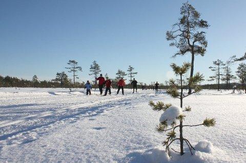 PÅSKEVÆR?: Håper du på sol, ski og plussgrader? Glem det, sier meteorologen.