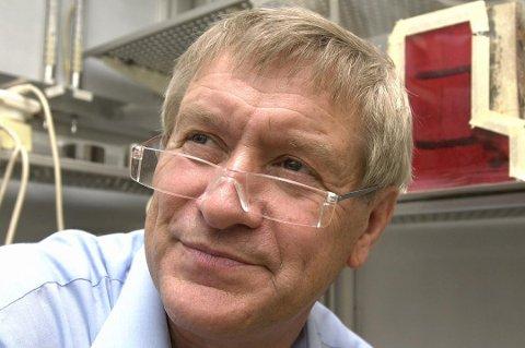 IKKE EKSTREMT MYE: Den pensjonerte insektsforskeren Reidar Mehl tror ikke myggen blir mer plagsom denne sommeren enn ellers, men understreker at Romerike er spesielt utsatt for mygg.