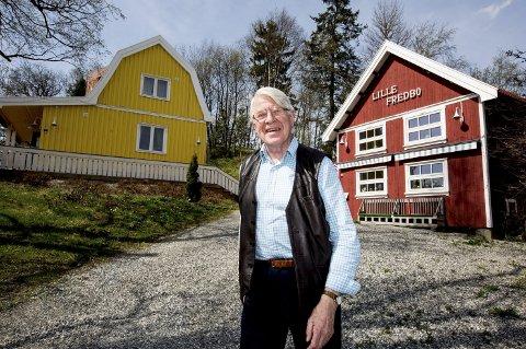 Odd Georg Murud er, til tross for sine 78 år, en svært travel mann. Han holder flere foredrag i uka og i vinter ble han overraskende bedt med på en misjonsreise til Nord-Korea. Foto: Tom Gustavsen