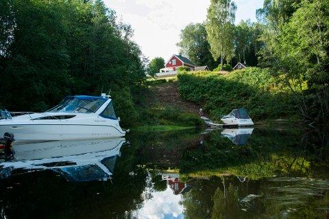 På Minnesund i Eidsvoll var det 29,7 grader i går.