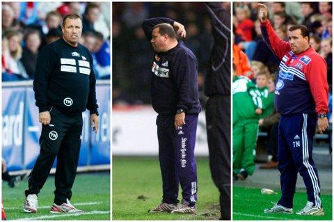 TAP, TAP, TAP: Verken i Vålerenga, Sandefjord eller Fredrikstad klarte Tom Nordlie å vinne en kvalifisering.