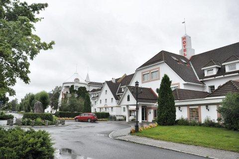 ADVARER ANDRE: Politiet advarer andre hoteller etter at en gjest på Olavsgaard ble frasjålet håndveska si søndag.